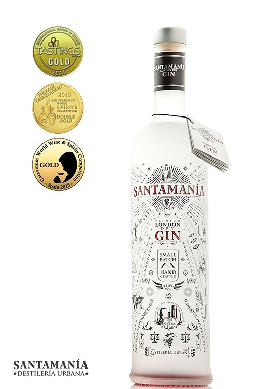 London Dry Gin SANTAMANÍA