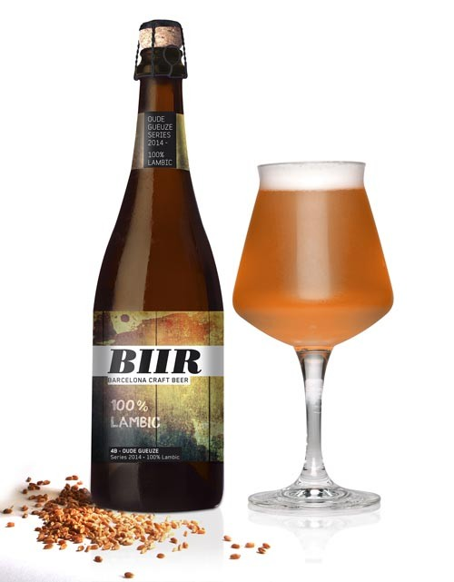 BIIR 4B OUDE GUEUZE Lambic Series 2014 Pack 3 Unidades