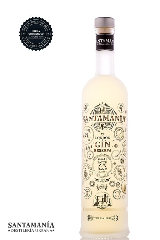 London Dry Gin Reserva SANTAMANÍA