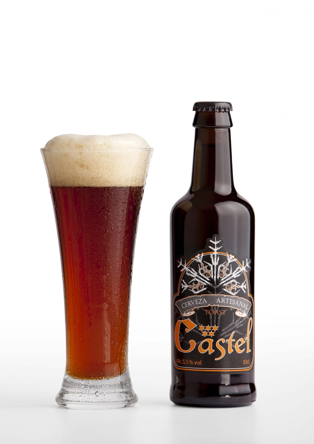 CASTEL TOAST-TOSTADA ALE Pack 3 Unidades